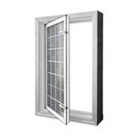 In-Swing Acrylic Block Egress Window