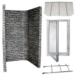StoneWall In-Swing Egress Window Kit