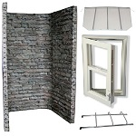 StoneWall Escape Window Egress Kit