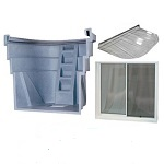 2060 Egress Kit - Granite Grey